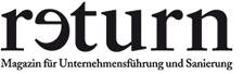 Logo: Return Magazin für Unternehmensführung und Sanierung