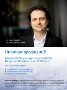 Cover: Umsetzungsstau adé - Buckler